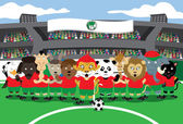 Zoo-Fußball