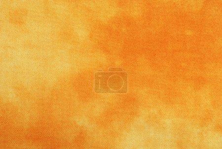 Orange Tye-Dyed Background
