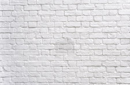 White brick wall background...
