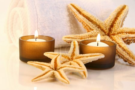 Little brown candles