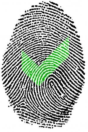 Accepted action Fingerprint