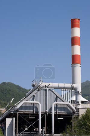 Industrial Electrical Power station