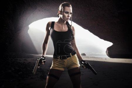 Lara Croft saves the world again