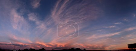 Photo for Beautiful cloudy sunset - Royalty Free Image