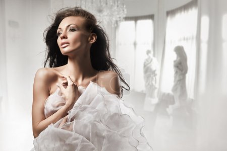 Photo for Beautiful woman in stylish interior - Royalty Free Image
