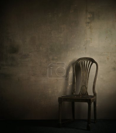 Photo for Real photo of classic armchair - Royalty Free Image