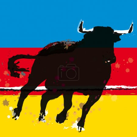 Bull Vector Illustration