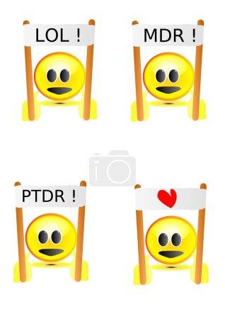 Photo pour Des sourires - image libre de droit