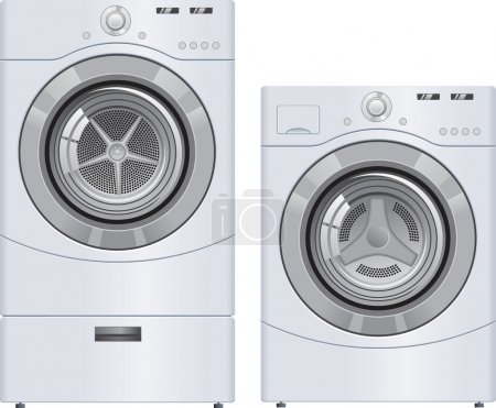 Wash Machine and Dryer