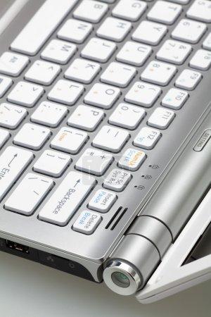 Laptop. Detail