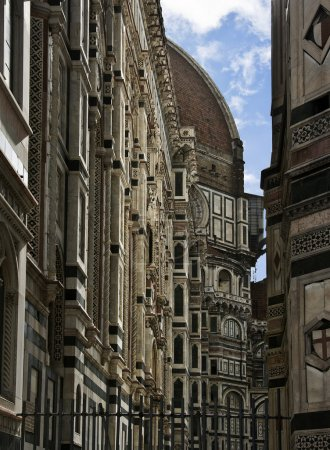 "Main cathedral of Florence ""Duomo"". Italy."