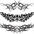 Patterns of tribal tattoo for design use...