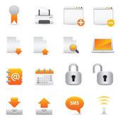 Website & Internet Icons Set | Yellow Serie 02