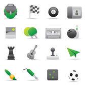 Entertainment Icons | Green 02