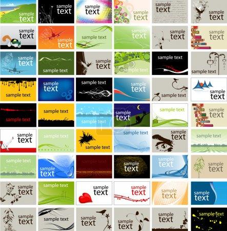 Photo pour Cartes de visite - image libre de droit