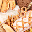 With bakery products...