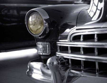 Russian retro-styled automobile