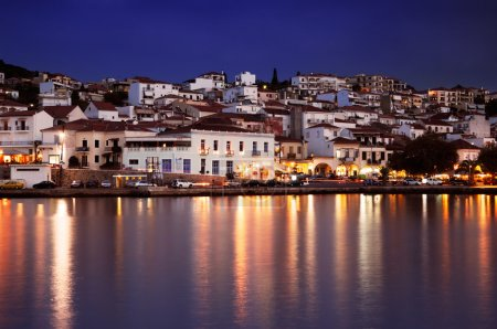 The town of Pylos, Greece