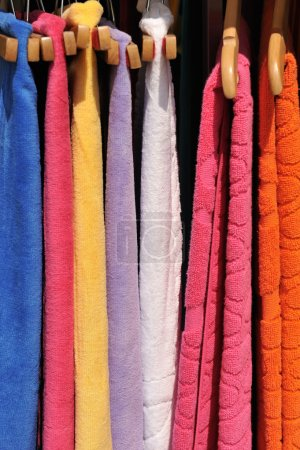 Colorful towels on sale
