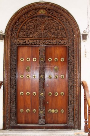 Zanzibar Studded Door