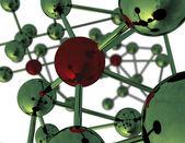 Abstrakt molekylstruktur