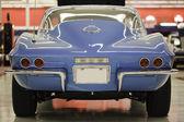 Vintage kék corvette