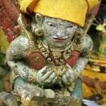 Old female demon in Bali, indonesia...