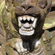 Lion with teeth on the staircase, Tirta Empul, Bal...