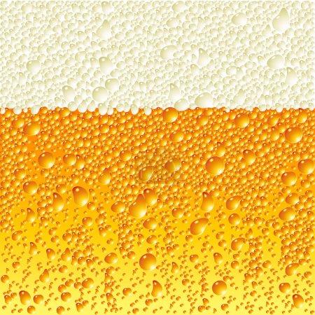 Illustration pour Bière, cette illustration peut être utile comme travail de designer - image libre de droit