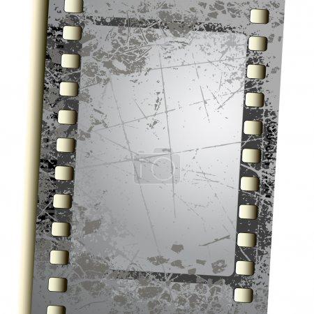 Ilustración de Película de la foto, esta ilustración puede ser útil como trabajo de diseño - Imagen libre de derechos