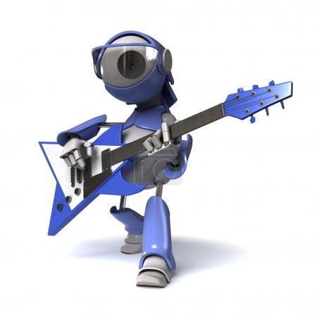 Robots guitarist