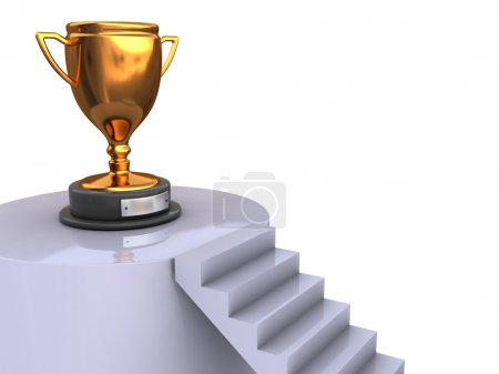 Stairway to trophy