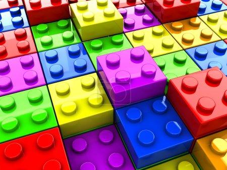 Puzzle toys background