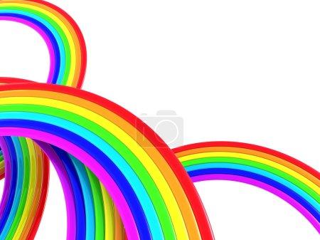 Regenbogenhintergrund