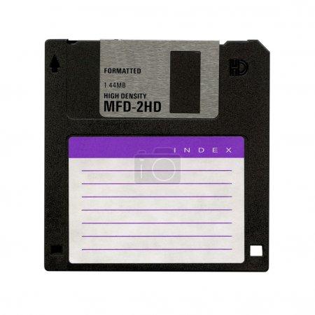Photo pour Support de stockage de données d'ordinateur magnétique de disquette - image libre de droit