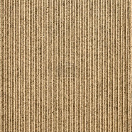 Photo for Brown corrugated cardboard useful as a background - Royalty Free Image