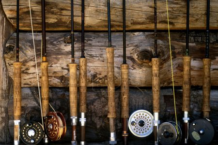 fly fishing poles