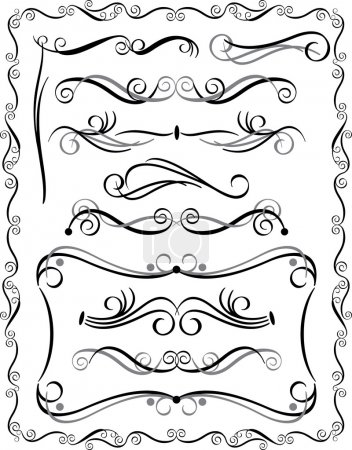 Decorative Borders Set 3