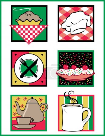 Food Service Icons