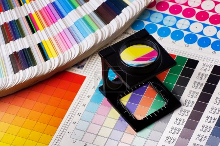 Press color management - print production...