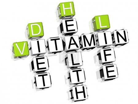 Vitamin Health Life Diet Crossword