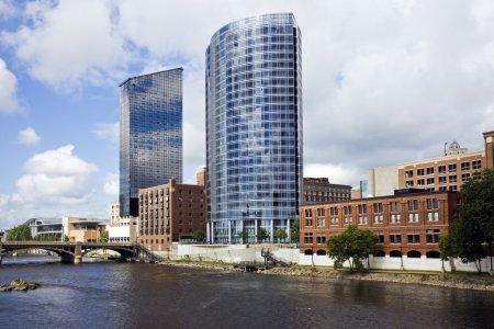 Architecture of Grand Rapids, Michigan, USA....