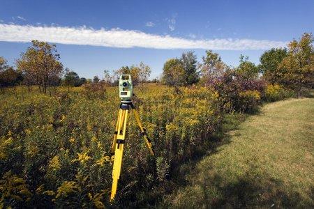 Photo for Land surveying - Royalty Free Image