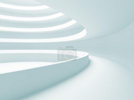 Photo pour Illustration 3d de la grande salle vide - image libre de droit