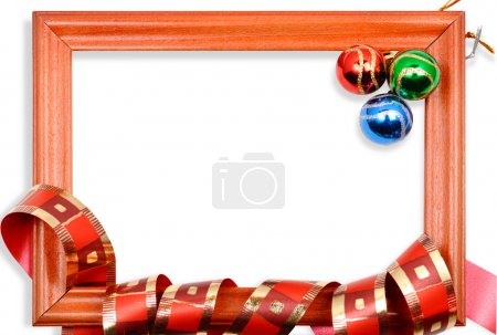 Christmas balls frame2