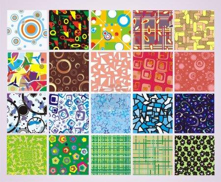 Ilustración de Stock vector set elegance and universal backgrounds - Imagen libre de derechos