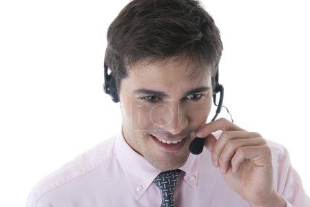 Confident Customer Service Representative