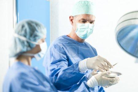 Surgeons At Work