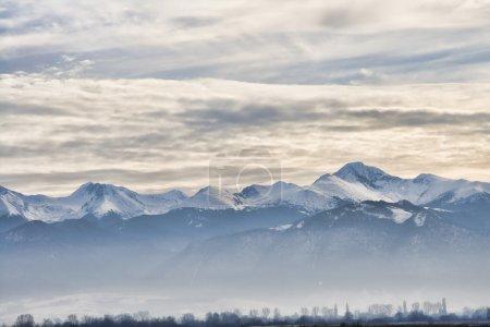 Photo for Retezat Mountains in winter, Romania. - Royalty Free Image