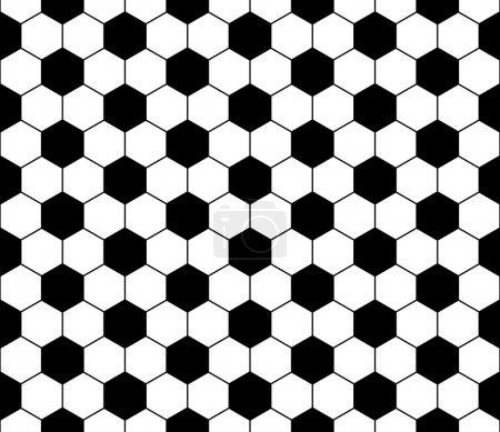 Seamless football pattern, vector